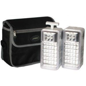 UltraTec 2 Piece Rechargeable Camping Lantern